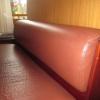 Assise de banquettes de Bar avant réfection