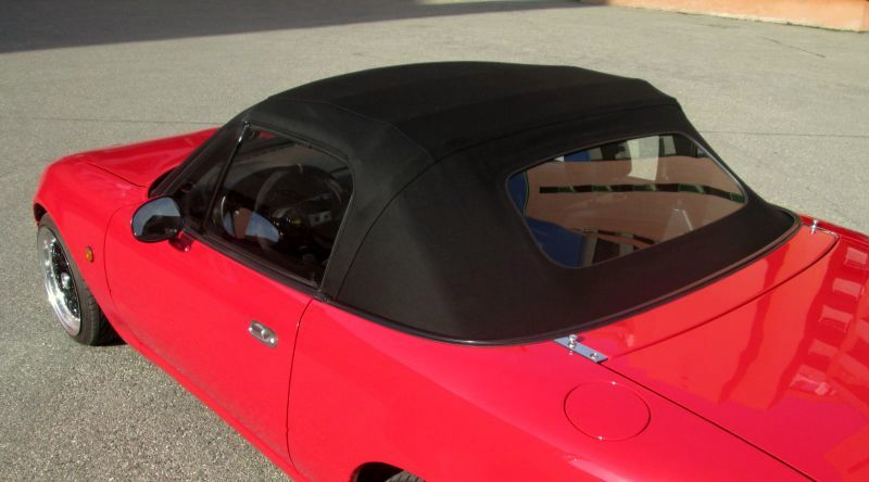 capote mazda mx 5 rouge sellerie chambon yves. Black Bedroom Furniture Sets. Home Design Ideas