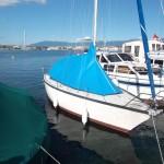 Bâche de protection sur mesure pour bateau